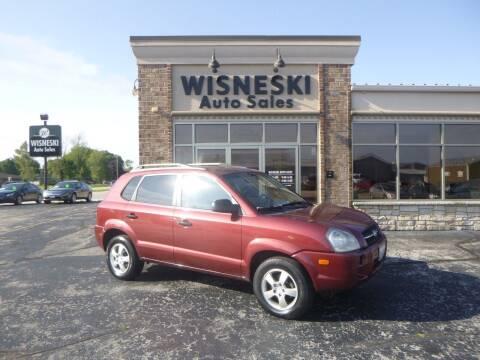 2007 Hyundai Tucson for sale at Wisneski Auto Sales, Inc. in Green Bay WI