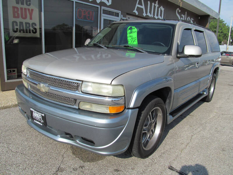2004 Chevrolet Suburban for sale at Arko Auto Sales in Eastlake OH