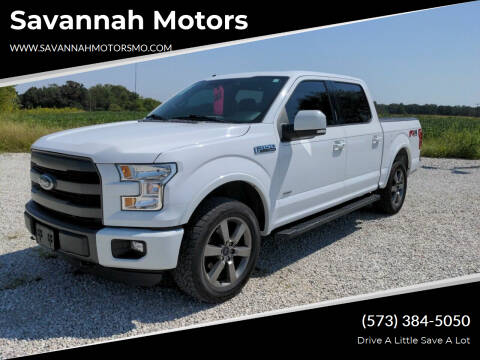 2015 Ford F-150 for sale at Savannah Motors in Elsberry MO
