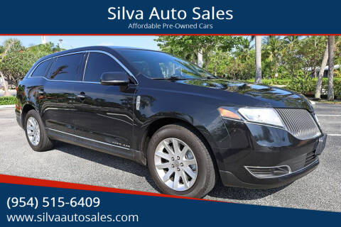 2015 Lincoln MKT Town Car for sale at Silva Auto Sales in Pompano Beach FL