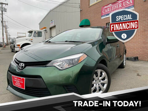 2014 Toyota Corolla for sale at Carlider USA in Everett MA