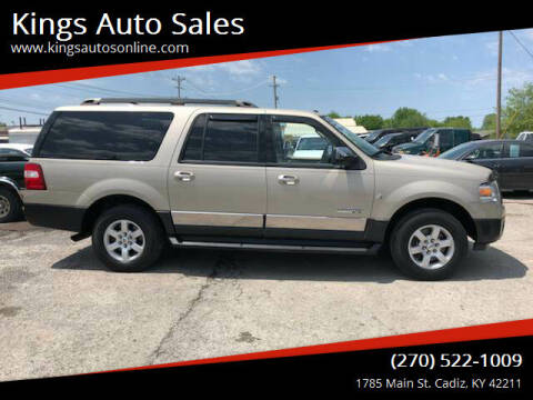 2007 Ford Expedition EL for sale at Kings Auto Sales in Cadiz KY