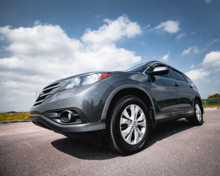 2013 Honda CR-V for sale at EURO STABLE in Miami FL