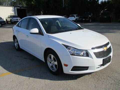 2013 Chevrolet Cruze for sale at RJ Motors in Plano IL