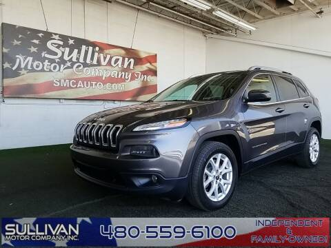 2018 Jeep Cherokee for sale at SULLIVAN MOTOR COMPANY INC. in Mesa AZ
