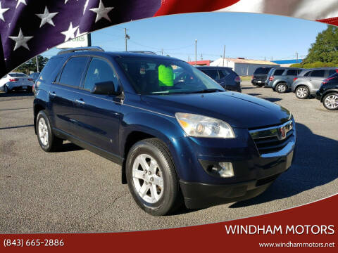 2008 Saturn Outlook for sale at Windham Motors in Florence SC