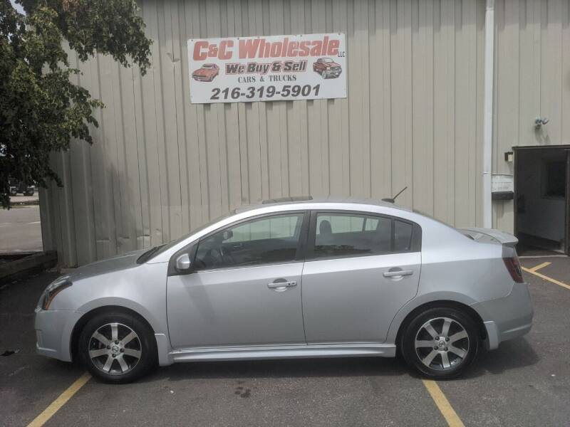 2012 Nissan Sentra for sale at C & C Wholesale in Cleveland OH
