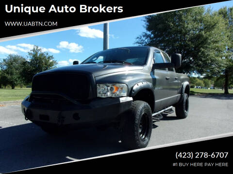 2004 Dodge Ram Pickup 2500 for sale at Unique Auto Brokers in Kingsport TN