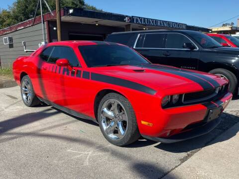 2014 Dodge Challenger for sale at Texas Luxury Auto in Houston TX