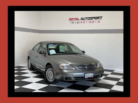 2004 Mercury Sable for sale at Royal AutoSport in Sacramento CA