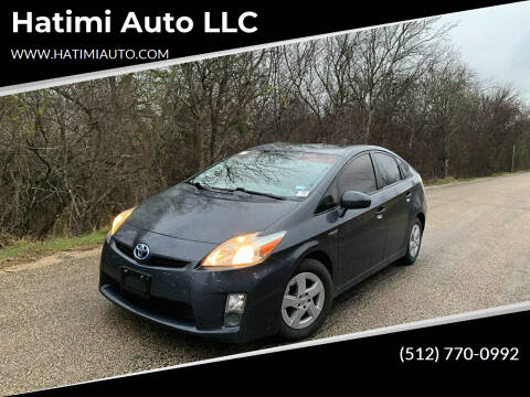 2011 Toyota Prius for sale at Hatimi Auto LLC in Buda TX