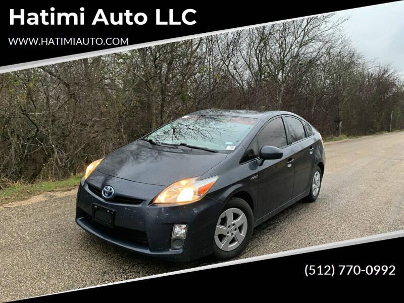 2011 Toyota Prius for sale at Hatimi Auto LLC in Austin TX