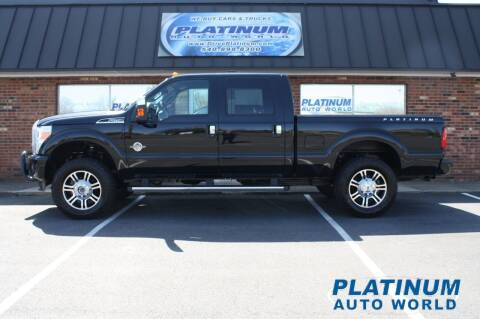 2016 Ford F-250 Super Duty for sale at Platinum Auto World in Fredericksburg VA