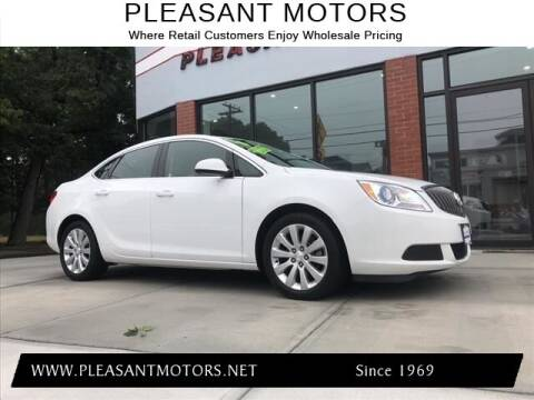 2016 Buick Verano for sale at Pleasant Motors in New Bedford MA