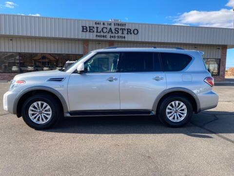 2020 Nissan Armada for sale at Belcastro Motors in Grand Junction CO
