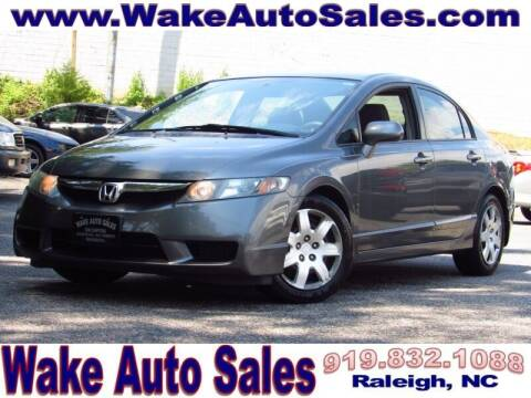 2009 Honda Civic for sale at Wake Auto Sales Inc in Raleigh NC