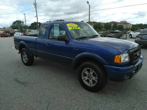 2004 Ford Ranger for sale at Kelly & Kelly Supermarket of Cars in Fayetteville NC