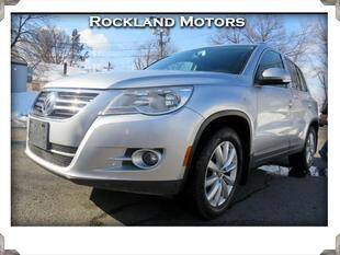 2011 Volkswagen Tiguan for sale at Rockland Automall - Rockland Motors in West Nyack NY