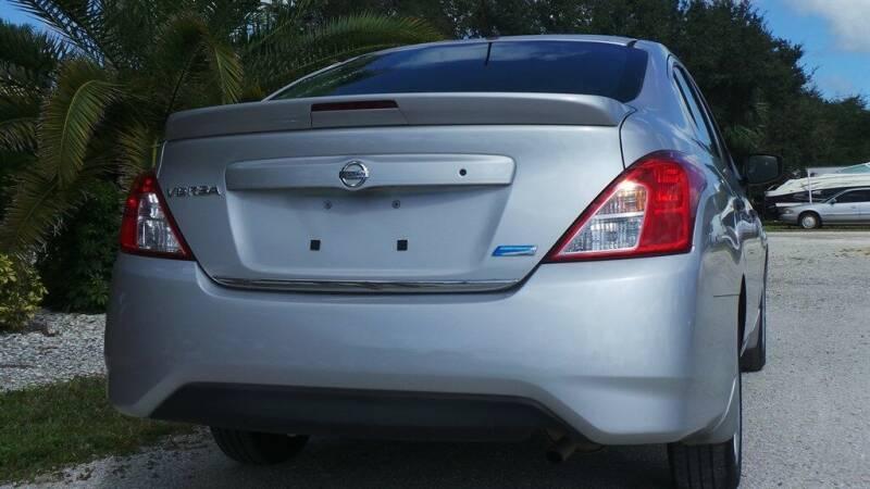 2016 Nissan Versa 1.6 S 4dr Sedan 4A - Fort Myers FL