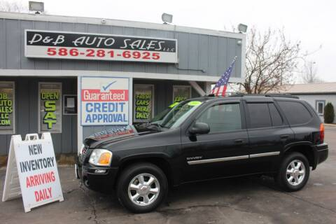 2006 GMC Envoy for sale at D & B Auto Sales LLC in Washington Township MI
