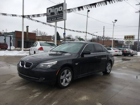 2008 BMW 5 Series for sale at Dino Auto Sales in Omaha NE