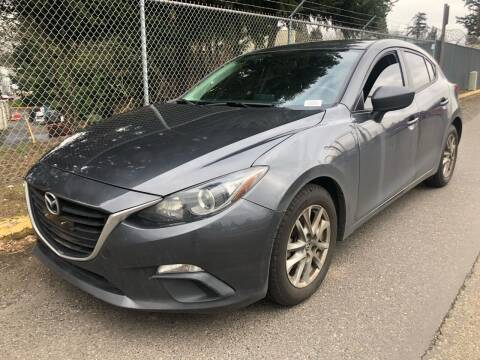 2016 Mazda MAZDA3 for sale at Blue Line Auto Group in Portland OR