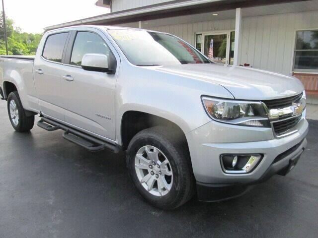 2015 Chevrolet Colorado for sale at Thompson Motors LLC in Attica NY