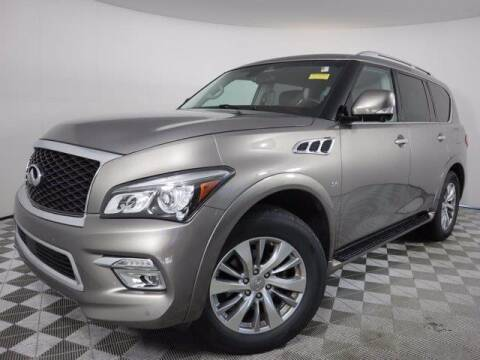 2017 Infiniti QX80 for sale at CU Carfinders in Norcross GA