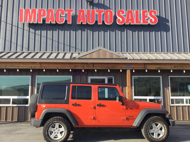 2015 Jeep Wrangler Unlimited for sale at Impact Auto Sales in Wenatchee WA