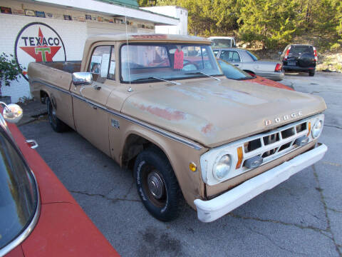 1969 Dodge D100 Pickup for sale at Governor Motor Co in Jefferson City MO