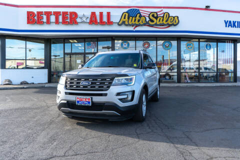2016 Ford Explorer for sale at Better All Auto Sales in Yakima WA