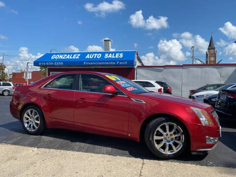 2009 Cadillac CTS for sale at Gonzalez Auto Sales in Joliet IL