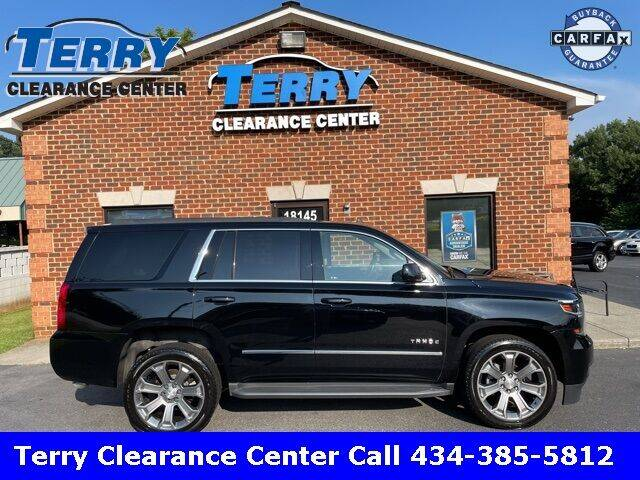 2018 Chevrolet Tahoe for sale at Terry Clearance Center in Lynchburg VA