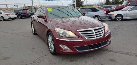2012 Hyundai Genesis for sale at I-80 Auto Sales in Hazel Crest IL