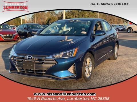 2020 Hyundai Elantra for sale at Nissan of Lumberton in Lumberton NC