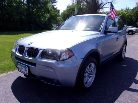 2006 BMW X3 for sale at American Auto Sales in Forest Lake MN