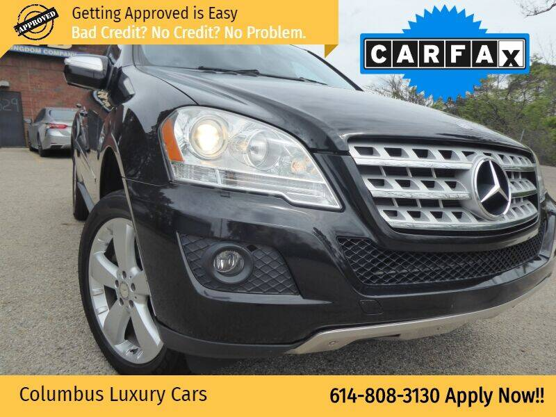 2010 Mercedes-Benz M-Class for sale at Columbus Luxury Cars in Columbus OH