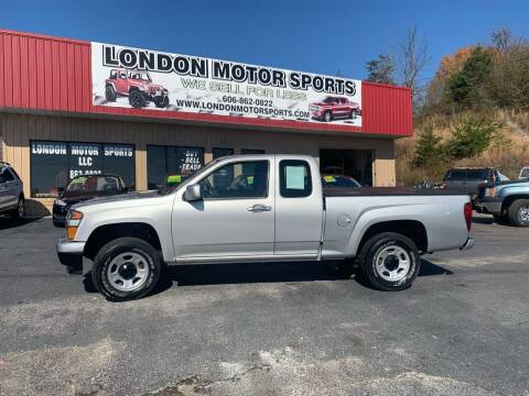 2012 Chevrolet Colorado for sale at London Motor Sports, LLC in London KY