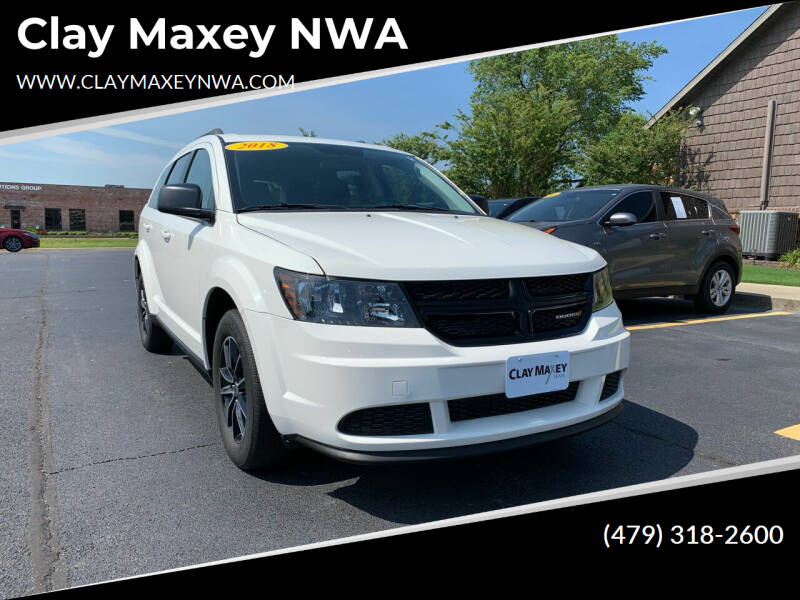 2018 Dodge Journey for sale at Clay Maxey NWA in Springdale AR