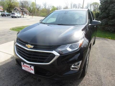 2021 Chevrolet Equinox for sale at VALERI AUTOMOTIVE in Winthrop Harbor IL