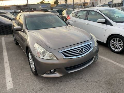 2011 Infiniti G37 Sedan for sale at CONTRACT AUTOMOTIVE in Las Vegas NV