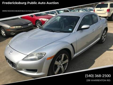 2005 Mazda RX-8 for sale at FPAA in Fredericksburg VA