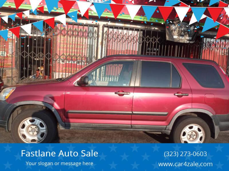 2005 Honda CR-V for sale at Fastlane Auto Sale in Los Angeles CA