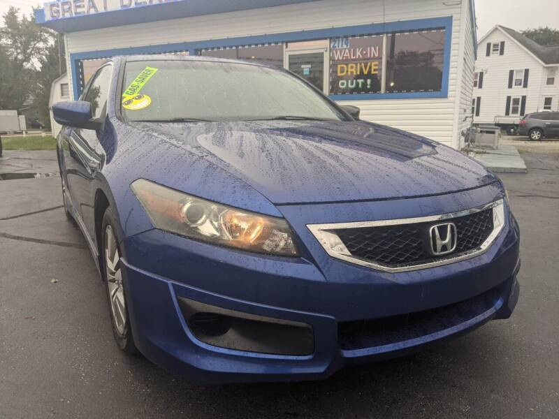 2010 Honda Accord for sale at GREAT DEALS ON WHEELS in Michigan City IN