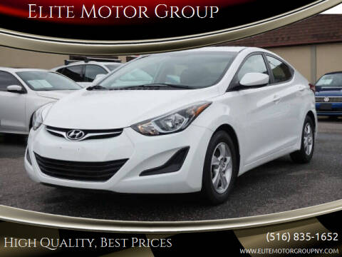 2014 Hyundai Elantra for sale at Elite Motor Group in Farmingdale NY