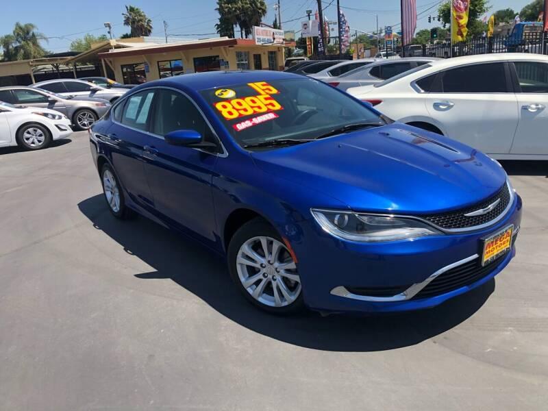 2015 Chrysler 200 for sale at Mega Motors Inc. in Stockton CA
