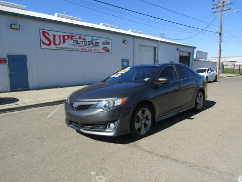 2012 Toyota Camry for sale at SUPER AUTO SALES STOCKTON in Stockton CA