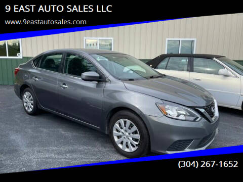 2018 Nissan Sentra for sale at 9 EAST AUTO SALES LLC in Martinsburg WV