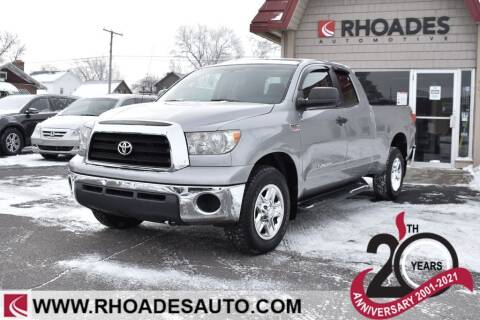2007 Toyota Tundra for sale at Rhoades Automotive in Columbia City IN