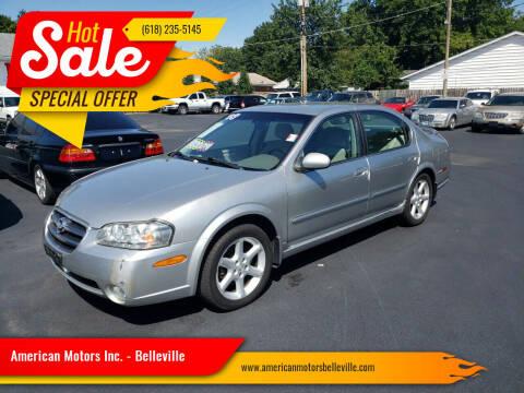 2003 Nissan Maxima for sale at American Motors Inc. - Belleville in Belleville IL